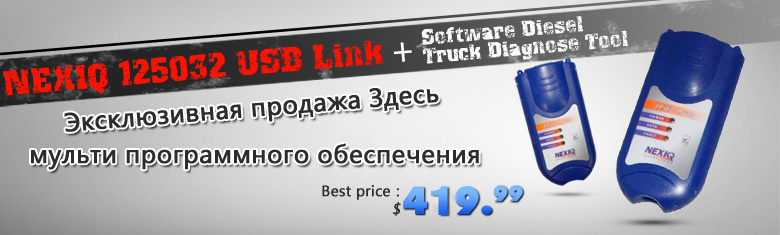 nexiq 125032 usb link truck diagnostic tool on sale
