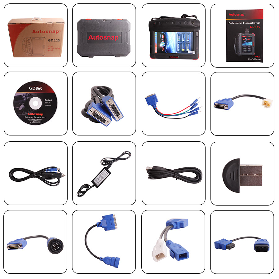 Autosnap GD860 Full Set Auto Scan Tool