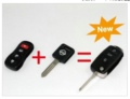 Nissan Remote Key (3 +1 ) 4 Button 315MHZ