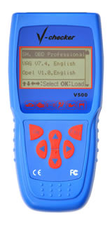 Super Car Diagnostic Equipment V-Checker V500