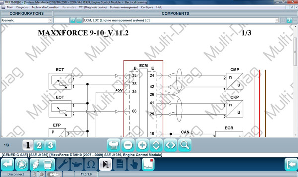 WAS Multi-Diag Truck Tool Maintenance information 1